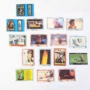 Star Wars 1980's O Pee Chee Lucasfilm Ltd. Cards